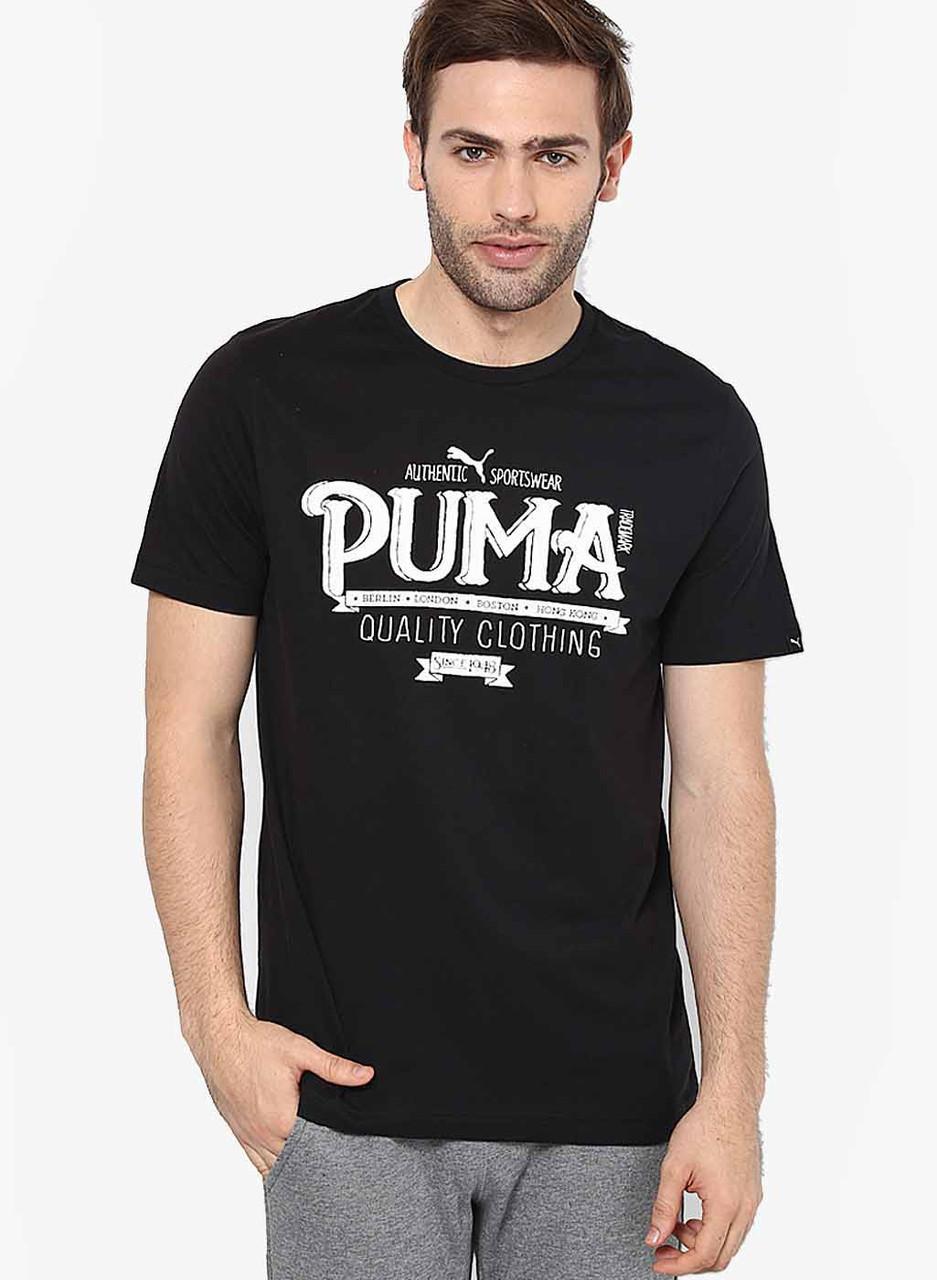 212953013e42 Футболка с Принтом Puma Authentic Мужская — в Категории