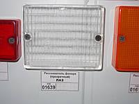 Рассеиватель фонаря ЛАЗ (прозрачный), ФП-117-3716204  трактора, грузовой машины, автобуса, тягача, спецтехники, комбайна, экскаватора, погрузчика