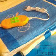 Электропростынь (электроматрац) KET ELECTRIC  140х155 см.  80-100 Вт. Внешнее покрытие полиамид (байка)