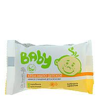 """Крем-мыло детское """"Календула и одуванчик"""" 90г. Dr. Sante Baby"""