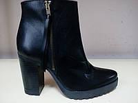 Ботинки женские кожаные  демисезонные UMA, фото 1