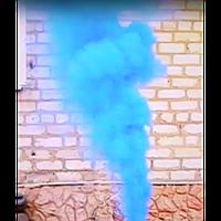 Синий дым, факел дымовой синий, цветной дым для фотосессии/вечеринки/свадьбы