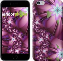 """Чехол на iPhone 6 Plus Цветочная мозаика """"1961c-48"""""""