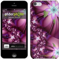 """Чехол на iPhone 5c Цветочная мозаика """"1961c-23"""""""