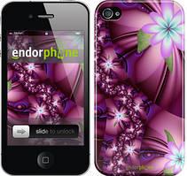 """Чехол на iPhone 4s Цветочная мозаика """"1961c-12"""""""
