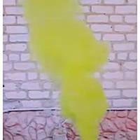 Желтый дымный факел, желтый дым для фотосессий, цветной дым