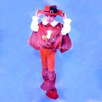 Костюм детский Мушкетер (Красный) L 041216-005
