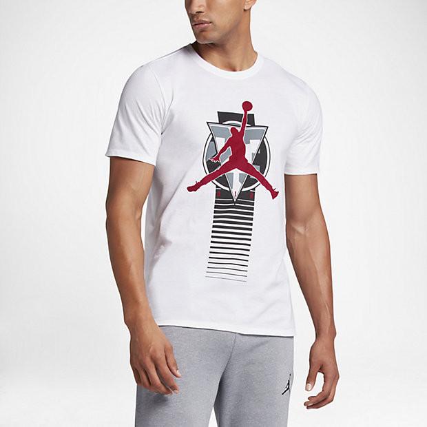 Футболка с принтом AIR Jordan мужская | Джордан