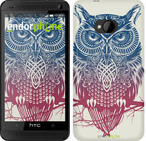 "Чехол на HTC One M7 Сова 2 ""2726c-36"""
