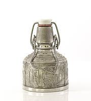 Старая коллекционная фляга, олово, Германия, 250 мл, фото 1