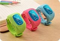 Детские часы телефон с GPS трекером Q50