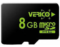Verico MicroSDHC 8GB Class 4 (card only)