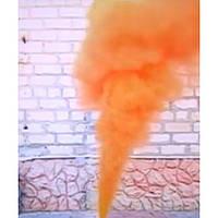 Оранжевый дым для фотосессий, факел дымовой оранжевый, цветной дым