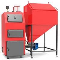 Котел Твердотопливный Пелетный с Бункером и Автоматической Подачей Топлива «РЕТРА-4М ДУО» 65 кВт