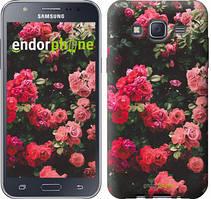 """Чехол на Samsung Galaxy J5 J500H Куст с розами """"2729c-100"""""""