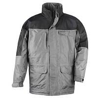 Куртка демисезонная, мужская, черная с серым RIPSTOP. Размер L, XL