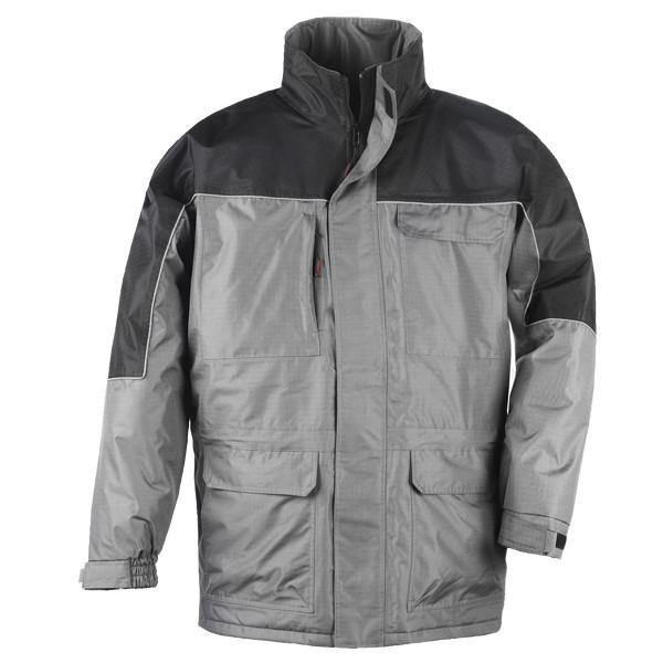 Куртка демисезонная, мужская, черная с серым RIPSTOP. Размер XL (52/54) - ТОВ УкрЗІЗпостач в Киеве