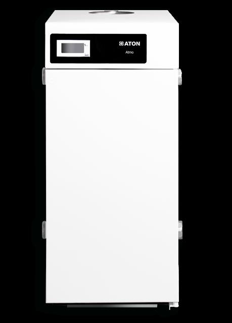 Газовый дымоходный котел ATON Atmo 25EB (двухконтурный)