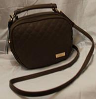 Женский клатч Chanel коричневый   1001-2