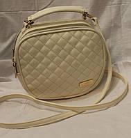 Женский клатч Chanel Белый  1001-4