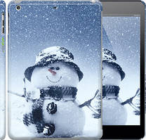 "Чехол на iPad 5 (Air) Весёлый снеговичёк ""214c-26"""