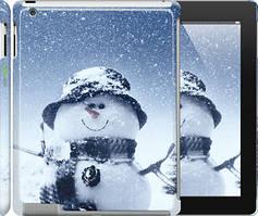 "Чехол на iPad 2/3/4 Весёлый снеговичёк ""214c-25"""