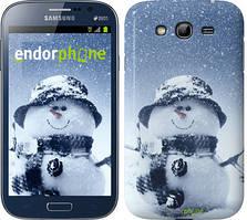 "Чехол на Samsung Galaxy Grand Neo I9060 Весёлый снеговичёк ""214c-112"""