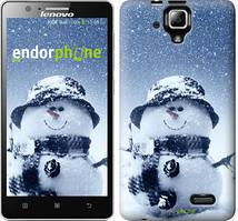 "Чохол на Lenovo A536 Веселий снеговичек ""214c-149"""