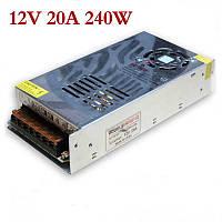 ELITE-240W 12V20A (метал) адаптер монтажный slim  .   dr