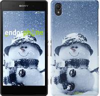 """Чехол на Sony Xperia Z2 D6502/D6503 Весёлый снеговичёк """"214c-43"""""""