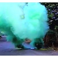 Зеленый дым DUPLEX, дым для фотосессий, факел дымовой зеленый