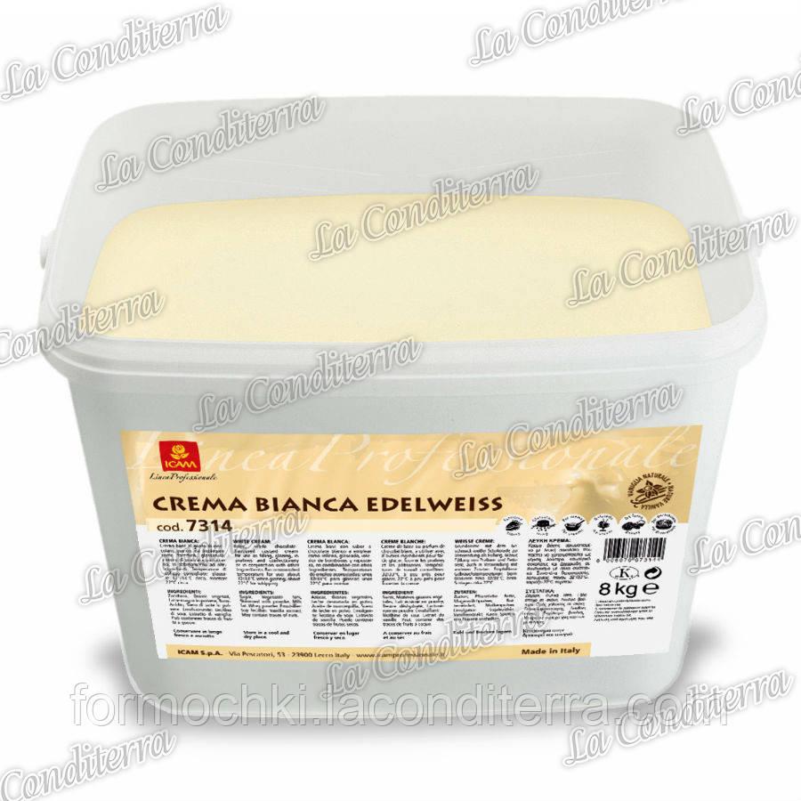 Крем «Эдельвейс» со вкусом белого шоколада (8 кг)