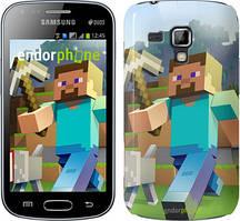 "Чохол Samsung Galaxy S Duos s7562 zka Minecraft 4 ""2944c-84"""