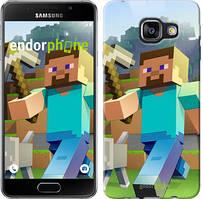 """Чехол на Samsung Galaxy A3 (2016) A310F Minecraft 4 """"2944c-159"""""""
