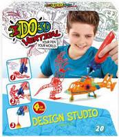 Детский набор для творчества с 3D-маркером - Мальчики 3D-маркер