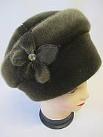 Женские шапки из нерпы