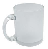 Чашка для сублимации стекло 300 мл (матовая снаружи)