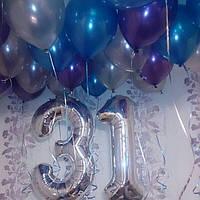 """Гелиевая композиция """"31""""  Гелиевые шары Киев."""