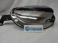Mazda MX5 MX-5 Miata 2006-13 хромовая крышка лючок бензобака Новый Оригинал