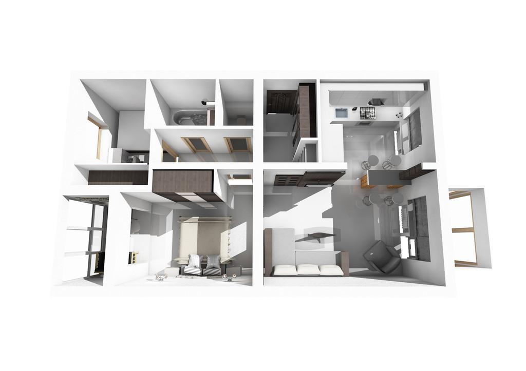 Современная квартира 13