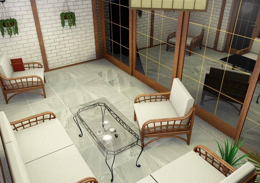 Веранда частного дома 1