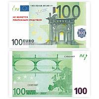 Пачка денег 100 евро, сувенир