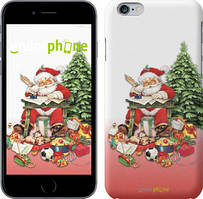 "Чехол на iPhone 6 Plus Дед Мороз с подарками ""219c-48"""