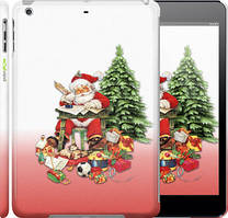 "Чехол на iPad 5 (Air) Дед Мороз с подарками ""219c-26"""