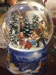 Снежный шар музыкальный