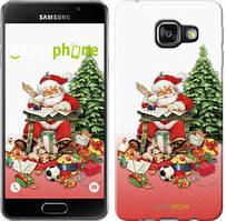 "Чехол на Samsung Galaxy A3 (2016) A310F Дед Мороз с подарками ""219c-159"""