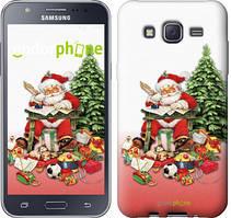 "Чехол на Samsung Galaxy J5 J500H Дед Мороз с подарками ""219c-100"""