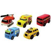 Спецтехника Toy State Городской транспорт 5 шт в наборе (41402)