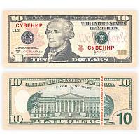 Пачка денег 10 долларов