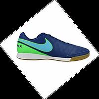 Обувь футбольная для зала Nike Tiempo X Genio II IC 819215-443 41 24bdeffb30d